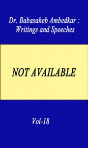 Writing and Speeches Vol-18