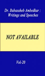 Writing and Speeches Vol-20