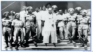 Babasaheb with Mahar Regiment
