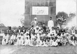 'Vijaystambha', Bhima-Koregaon,